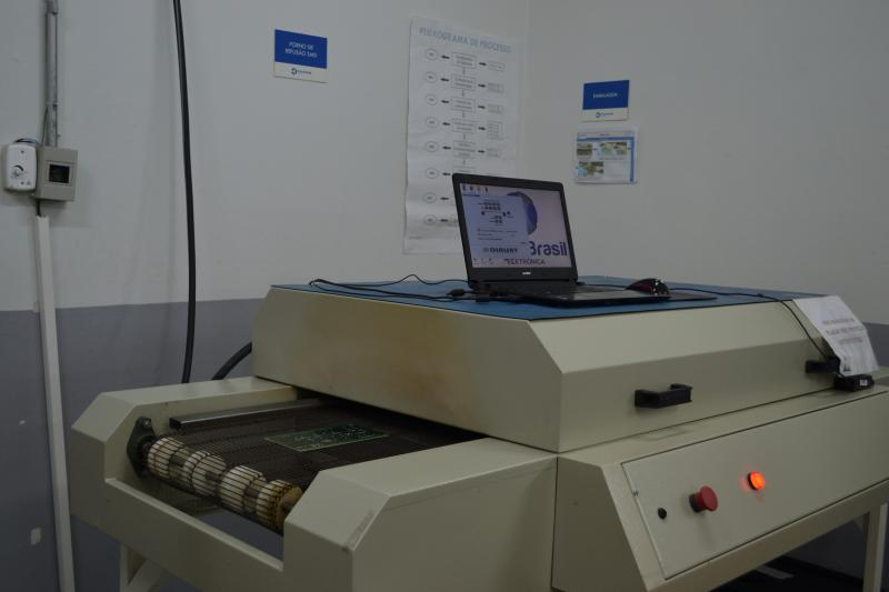Montadora de placas eletrônicas smd
