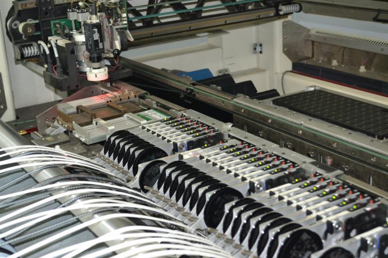 Montagem de placas smd